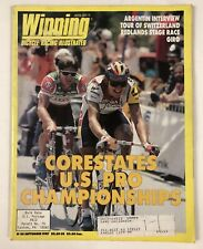 Vintage Sept 1987 Winning Cycling Bicycle Racing Illustrated Magazine Issue #50