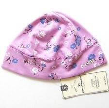 Mütze Gr.62 2-4M. Tom Tailor NEU m.E 100% Baumwolle violet Blumen baby