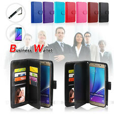 ON SALE !!! MAGNETIC LEATHER WALLET FLIP CASE COVER Samsung Galaxy S6 Edge Plus
