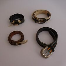 b75b7b56db20 4 ceintures multicolores femme modèles vintage art déco XXe PN France