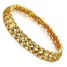 Damen Armband Armkette 17,5 cm Länge 18K vergoldet Armschmuck - S371