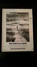 James Gang Jesse Come Home Rare Original Promo Poster Ad Framed!