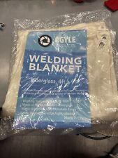 Agyle Products Welding Blanket, Fiberglass Protection, 4ft X 6ft, New In Plastic