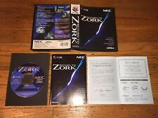 Return to Zork (NEC PC-FX) Game FXNHE505 Complete in Box Mint!
