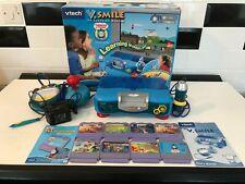 Sistema De Aprendizaje Vtech V. smile Completo con Thomas el tanque, además de 7 juegos extra