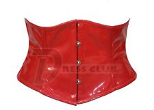 Body Shaper Steel Bone Waist Reducing PVC Corset DC-4705 sz XS/36 ~ XL/44