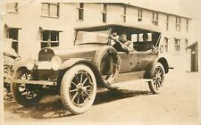Early Automobile c 1910's Real Photo Postcard