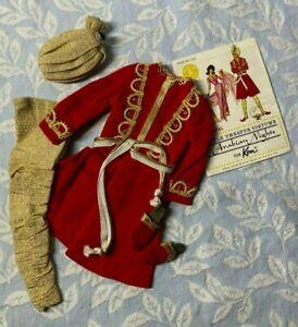 MATTEL BARBIE Ken Vintage Clothing #0774 Arabian Nights from 1964 COMPLETE