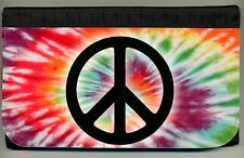 Peace Sign Rainbow Tie-Dye Tie Dye Logo Ladies Wallet Credit Card Coin Holder NW