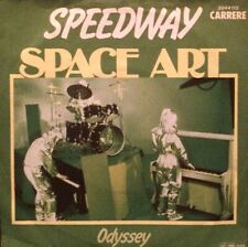 "SPACE ART - SPEEDWAY / ODYSSEY ++ 7"" VINYL SINGLE ++ 70ies ELECTRO DISCO"