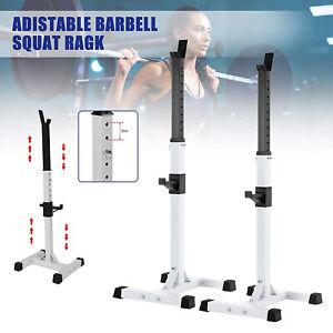 2PCS Langhantelablage Einstellbare Kurzhantelablage Fitnessübung Gewichte