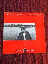 BRYAN ADAMS - INTO THE  FIRE -  TOUR PROGRAMME - 1987