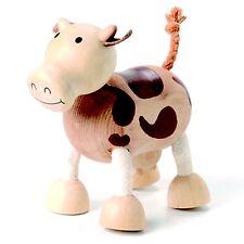 Vaca-Anamalz (de Madera Animales Juguetes)