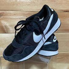 Nike MD Valiant Trainers Black White UK 6 Sneakers