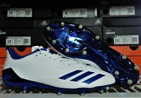 Adidas Adizero 5-Star 6.0 NFL Low Football Cleats 13.5 White Royal Metal CG4230