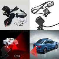 Car Logo Projector Laser Taillight Anti-Collision Warning Lamp for Honda/Toyota