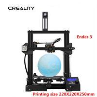 Used Newest Creality Ender 3 3D Printer 220X220X250mm DC 24V US & EU Stock