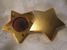 "ESTEE LAUDER PERFUME SOLID GOLD STAR BEAUTIFUL O.4 OZ 3/4 FULL 2"" x 2 1/2"""