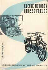 Probst Kleine Motoren Handbuch Leichtmotorräder Roller EA 1951 Motorroller