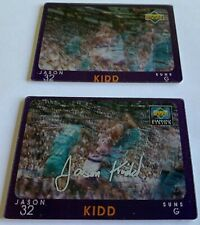 JASON KIDD 1997-98 Upper Deck Diamond Vision Signature Moves parallel #S21 +base