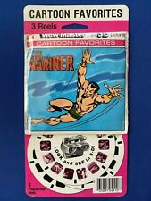 1978 GAF Marvel The Sub-Mariner View-Master 3-D Reels Sealed MOC