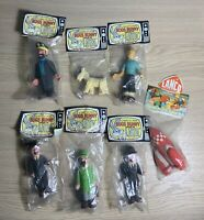 Lot figurines LAYA. Pouet Tintin. Warner Bros. Collection complète.