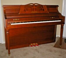 """43"""" Mahogany Satin CONSOLE PIANO with FREE Tuning & Local Delivery in Austin, TX"""