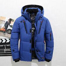 Details about  Men's Winter Warm Duck Down Jacket Ski Jacket Snow Hooded Coat C