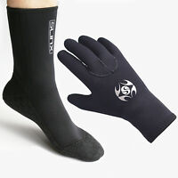 Diving Socks Gloves 3mm Swimming Surfing Snorkeling Outfits for Adults