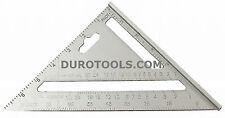 7 Inch Rafter Angle Alumium Square Speed Framing Carpenter Builder Ruler Gauge