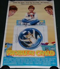 PROBLEM CHILD 1990 ORIGINAL ROLLED 1 SHEET MOVIE POSTER JOHN RITTER