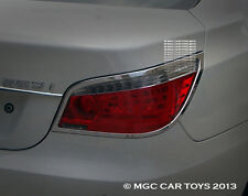 BMW 5 Series 2004- 2009 Top Quality Sport Taillight Chrome Trim Upgrd