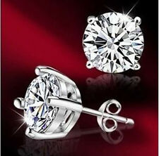 wholesale discount solid  silver jewelry Stud Earring xmas gift