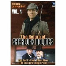 The Return of Sherlock Holmes, Vol. 4 - The Devil's Foot / Silver Blaze / The Br