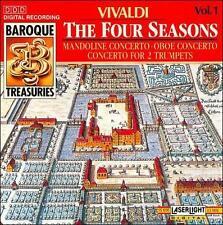 Vivaldi: The Four Seasons (CD, Aug-1990, Laserlight)