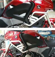 KIT ADESIVI 3D PROTEZIONI LATERALI compatibili per MOTO CROSSTOURER 1200 HONDA
