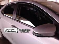 MIT for Toyota Corolla Altis (4pcs) In-channel Window Deflector Visor (2013-on)