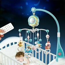 Baby Musical Bed Bell Kid Crib Musical Mobile Cot Baby Rattle Toy 150 Melodies