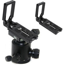 Canon Arca Swiss Vertical Bracket Quick Release L-Plate Camera Holder Grip