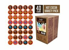 Brooklyn Beans Hot Chocolate Variety Pack Pods, Compatible with 2.0 K-Cup Bre...