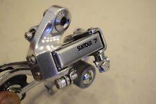 Suntour 7 vintage rear derailleur 5-7 sp. steel medium / long cage silver nos