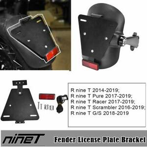 Fender bracket rear number plate for bmw r nine t 2014-2019