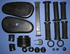 BMW R50 R50/2 R50S R60 R60/2 R69 R69S Complete Rubber Set