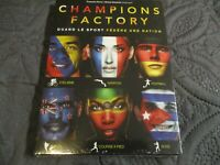 "COFFRET 3 DVD NEUF ""CHAMPIONS FACTORY : QUAND LE SPORT FEDERE UNE NATION"""