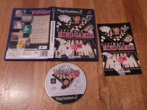 ULTIMATE MIND GAMES PS2 PAL COMPLETE TESTED