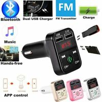 Universal Cargador De Reproductores Para Carro Reproductor Con Bluetooth USB MP3