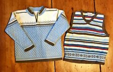 Hanna Andersson Nordic Fairisle Sweater Lot 110