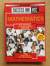 Excel Success One HSC MATHEMATICS 2010 Ed Past Maths Exam Papers GC Textbook 2