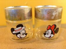 VINTAGE SALT AND PEPPER SHAKER SET- Mickey Minnie Mouse Disney