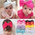 Cute Newborn Baby Toddler Girl Kid Bow Rabbit Flower Hair Band Turban Headband